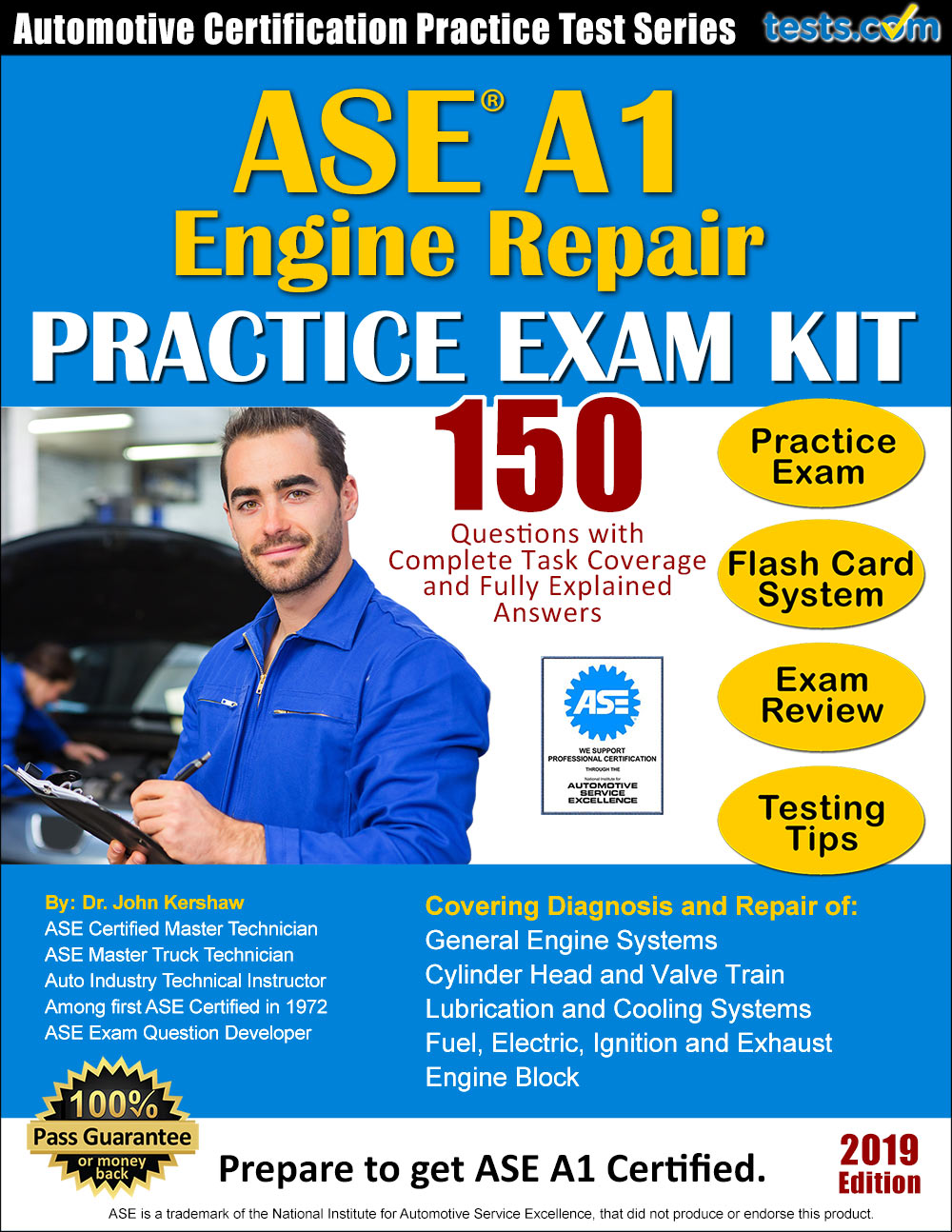 test ase practice a1 repair engine explained certification task coverage answers fully pass written expert complete using